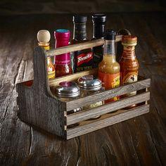 mason jar caddy condiment caddy utensil caddy by creativewindow