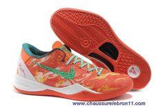 Tous-Star Bright Citrus Sport Turquoise-Total Crimson Nike Kobe 8 System 587553 800 En Ligne