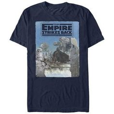 7ceecd16dbe Star Wars  Empire Strikes Back- Vader Invades Hoth Movies T-Shirt