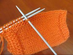 Соединение деталей спицами. 3-needle joining technique Как научиться вязать. - YouTube