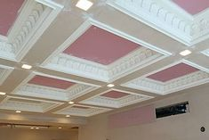 Home, Cornices Centre The best online shop in London. Great selection of plaster cornices, covings, ceiling roses, corbels. We offer a full fitting service. Plaster Cornice, Bar Interior Design, Plaster Molds, Coving, Cornices, Office Reception, Receptions, Craftsman, Centre