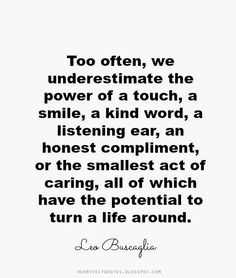 Inspiring quotes by Leo Buscaglia