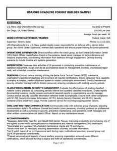 Example Of Military Resume Magnificent 14 Best Resumes Images On Pinterest  Resume Resume Templates And .