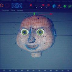 Intento de personaje v1.0 ... :-D @fabrifafa profe particular de Cinema jaja esperemos que tenga cuerpo y nombre primero (P.D. Si se les ocurre un nombre agradezco sus sugerencias) #cinema4d #C4D #modelado3d #3dmodeling #animation #animacion #filmmaker #cine by ivan_federico_cano