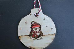 Christmas tree ornament Penguin décor Holiday tree | Etsy