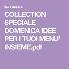 COLLECTION SPECIALE DOMENICA IDEE PER I TUOI MENU' INSIEME.pdf