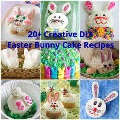 20+ Creative DIY Easter Bunny Cake Recipes