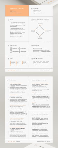 Resume Template, CV, Google Docs Pinterest Professional resume - google docs resume templates