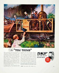 1946 AD SKF Ball Roller Bearings Philadelphia Industrial Train OLD FTM1 | eBay