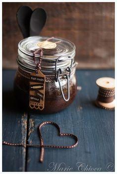 Fondant au chocolat dans son bocal ( Sans Lait, IG Bas )