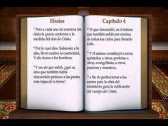"LA BIBLIA "" EFESIOS "" COMPLETO REINA VALERA NUEVO TESTAMENTO"
