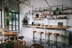 Local Mbassy. Cafe in the 1920s. (More design inspiration at www.aldenchong.com)