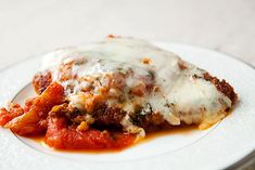Chicken Parmesan on SimplyRecipes.com