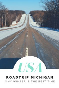 Roadtrips off the beaten path! Let me introduce you to a drive to explore Michigan in the winter!   #Roadtrip #PureMichigan #Roadtrippin