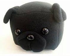 Black pug loaf