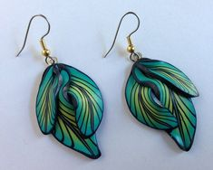 Jewelry handmade earrings Polymer clay earrings by PolymerGarden, $17.00
