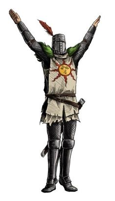 Dark Souls: Solaire by MenasLG on DeviantArt Dark Souls: Solaire by MenasLG on DeviantArt Dark Souls 3, Dark Souls You Died, Arte Dark Souls, Dark Souls Solaire, Kodama Tattoo, Dibujos Dark, Pichu Pokemon, Soul Saga, Soul Tattoo