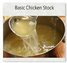 Don't buy terrible chicken stocks, make your own fresh one, so simple.
