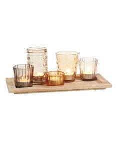 Another great find on #zulily! Harvest Wood Tray #zulilyfinds