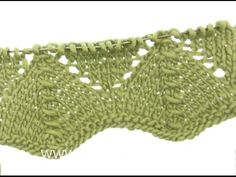DROPS Knitting Tutorial: How to work lace pattern after chart in DROPS Knitting Stiches, Knitting Videos, Knitting Charts, Lace Knitting, Knitting Patterns Free, Knit Lace, Lace Patterns, Stitch Patterns, Crochet Patterns