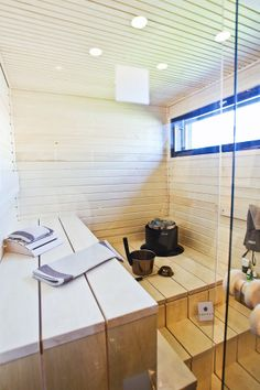 Another great sauna Saunas, Tub, Architecture Design, Sweet Home, Shed, Cottage, Interior Design, Bathroom, House