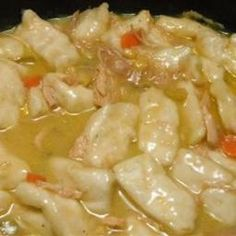 On a mission to find best crockpot chicken and dumplings recipe. Crockpot Chicken and Dumplings Slow Cooker Huhn, Crock Pot Slow Cooker, Crock Pot Cooking, Slow Cooker Recipes, Crockpot Recipes, Cooking Recipes, Chicken Recipes, Budget Recipes, Turkey Recipes