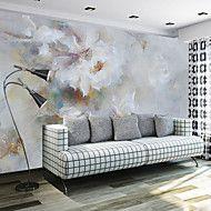 Konst+Dekor+3D+Bakgrund+För+hemmet+Nutida+Tapetsering+,+Kanvas+Material+lim+behövs+Väggmålning+,+Tapet+–+SEK+Kr.+1,522