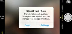 6 surprising ways to free up space on your iphone ... so that you never get THIS message again!   thecrazyorganizedblog.com