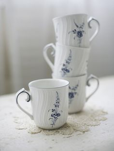 villeroy+and+boch+teacups+от+sadieolive+на+Etsy,+$32,00