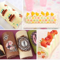 thegluegungirl: Japanese Deco Roll Cake - More Than A Swiss Roll