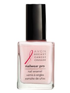 100% of the proceeds from this ballet-pink polish goes to the Avon Breast Cancer Crusade. Nailwear Pro Nail Enamel in Pink Power, $2.99; avon.com.