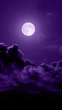 all things purple sky Purple Sky, Purple Love, All Things Purple, Shades Of Purple, Purple Stuff, Purple Hues, 50 Shades, Purple And Black, Moon Beauty