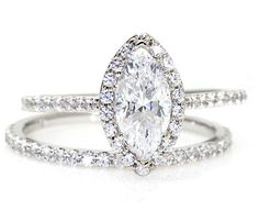 I want this engagement ring, in rose gold, and I want the wedding band to be Tanzanite
