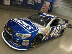 Jimmie Johnson's 2015 car is awesome! #NASCAR