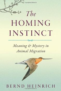 The Homing Instinct: Meaning and Mystery in Animal Migration - Bernd Heinrich