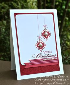 Stampin' Up  Mosaic Madness for Christmas