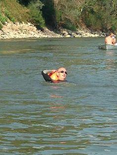Nuotata in Po