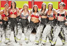 Smokin' hot! Female fire-fighters strip off for Britain's first ever all-women charity calender to raise money for Cancer Research UK...I would so do this!
