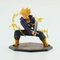 """Dragon Ball Z Super Saiyan 6"""" Trunks Battle Version Boxed PVC Action Figure"""