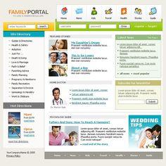 Portal Family SWiSH Templates by Hugo