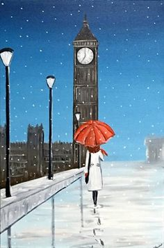 London Winter Walk 2 by Aisha Haider