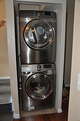 stackable washer dryer laundry