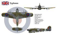 Typhoon 198 Sqn 3-View by WS-Clave.deviantart.com on @DeviantArt