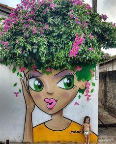 Brasile: nuovo pezzo dello street artist brasiliano Robson Melancia. LINK UTILI: Robson Melancia su questo blog Robson Melancia – Instagram Robson Melancia – Facebook
