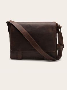Frye Logan Leather Messenger Bag Messenger Bag Men, Pocket, Leather, Accessories, Clothes, Logan, Fasion, Products, Handbags