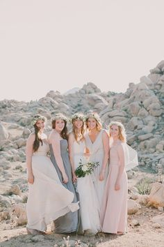 It's Impossible NOT To Love This Incredible Desert Wedding #refinery29 http://www.refinery29.com/100-layer-cake/77#slide8