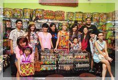 #personilSG Samarinda 16 Dec 2012 @eastkalimantan |Bagus ya pernak-perniknya. Bisa order online?