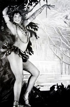 Josephine Baker at the Folies Bergere, ca.  1926-1927. °