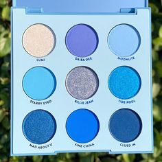 feelin' blue? go get you some sunlight ☀️ Featuring: blue moon palette | tap to shop through Instagram! - @makeup.julianna - #colourpopme…