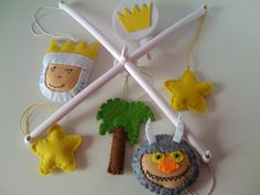 Where the wild things are Baby Crib Mobile  by twinsandcrafts, $85.00
